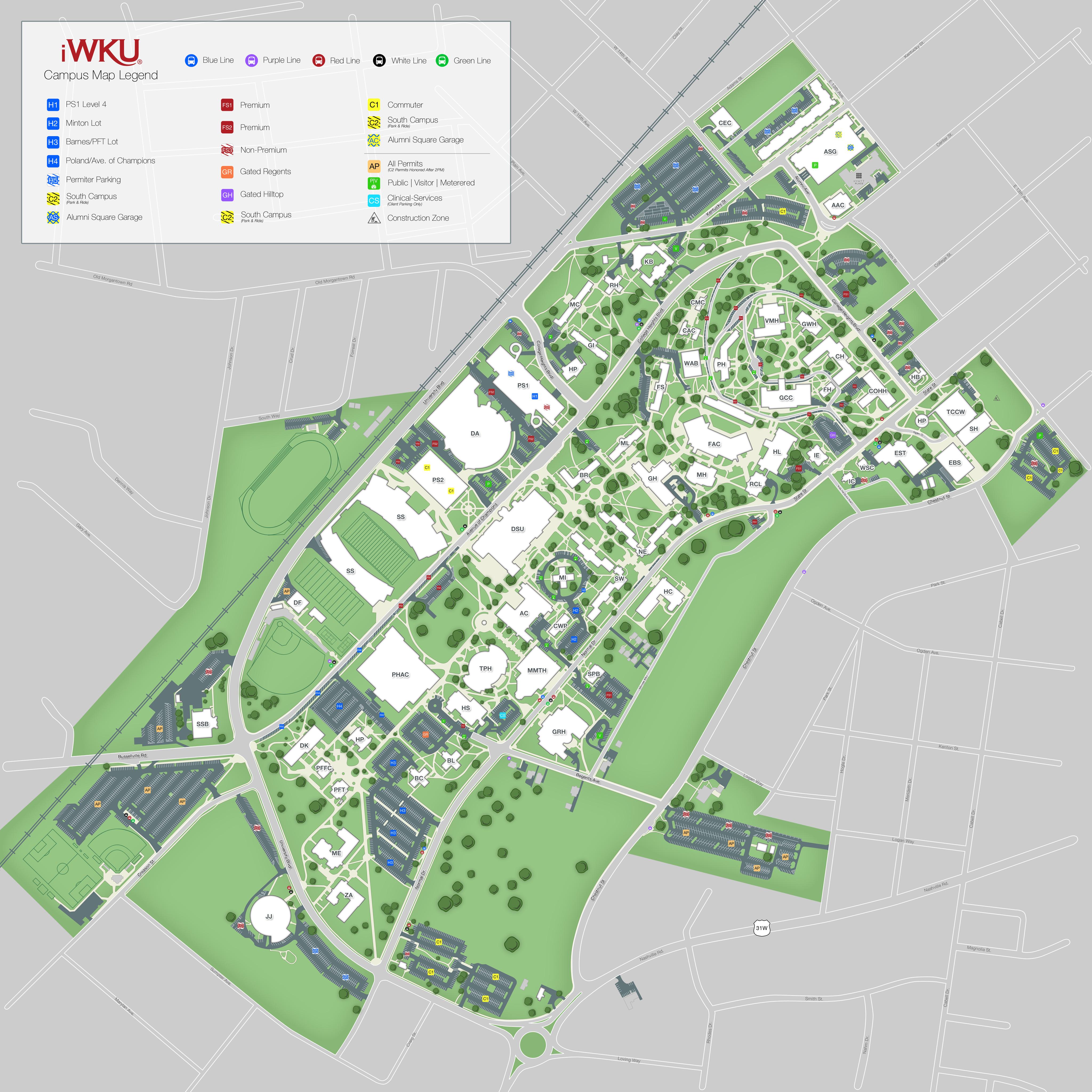 iWKU   Campus Info